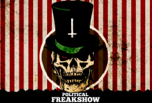 political freakshow – wallpaper (CC-BY-SA)