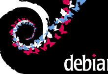 Debian-Butterfly Wallpaper (CC-BY-SA)